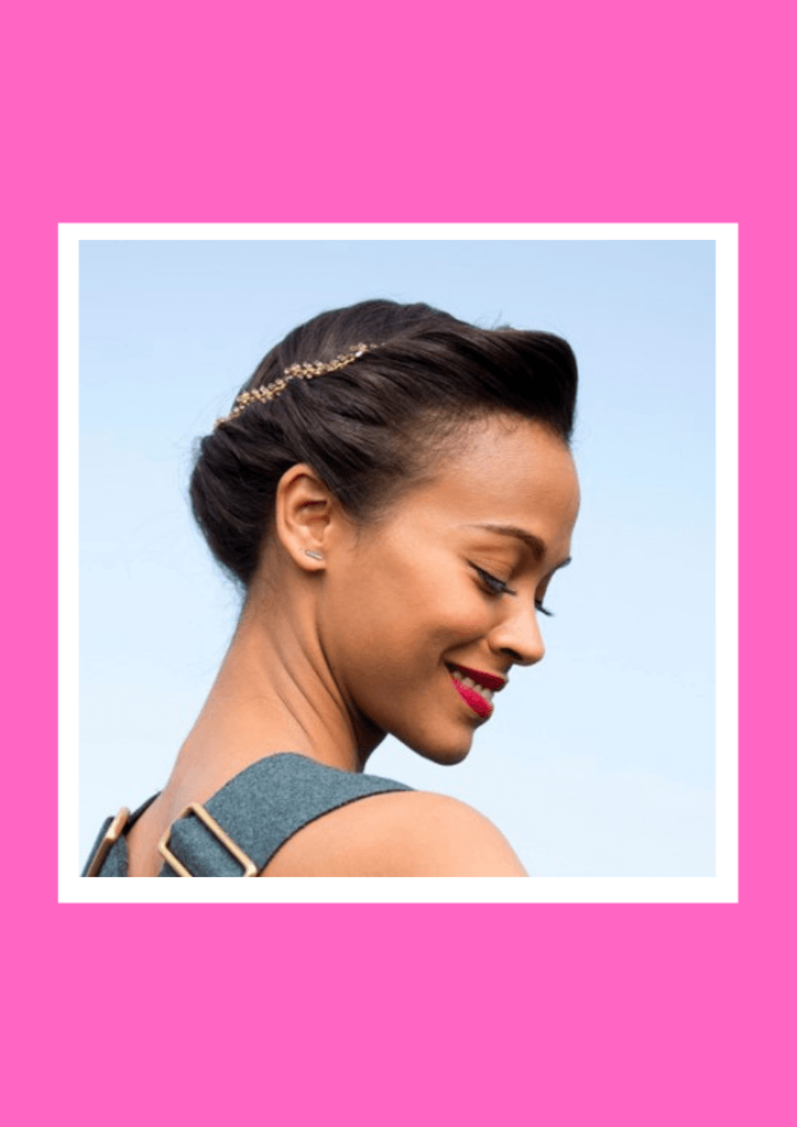 Twisted Bun - 6 Flawless Up-do's For Short Hair Inspired By Beautiful Celebrities