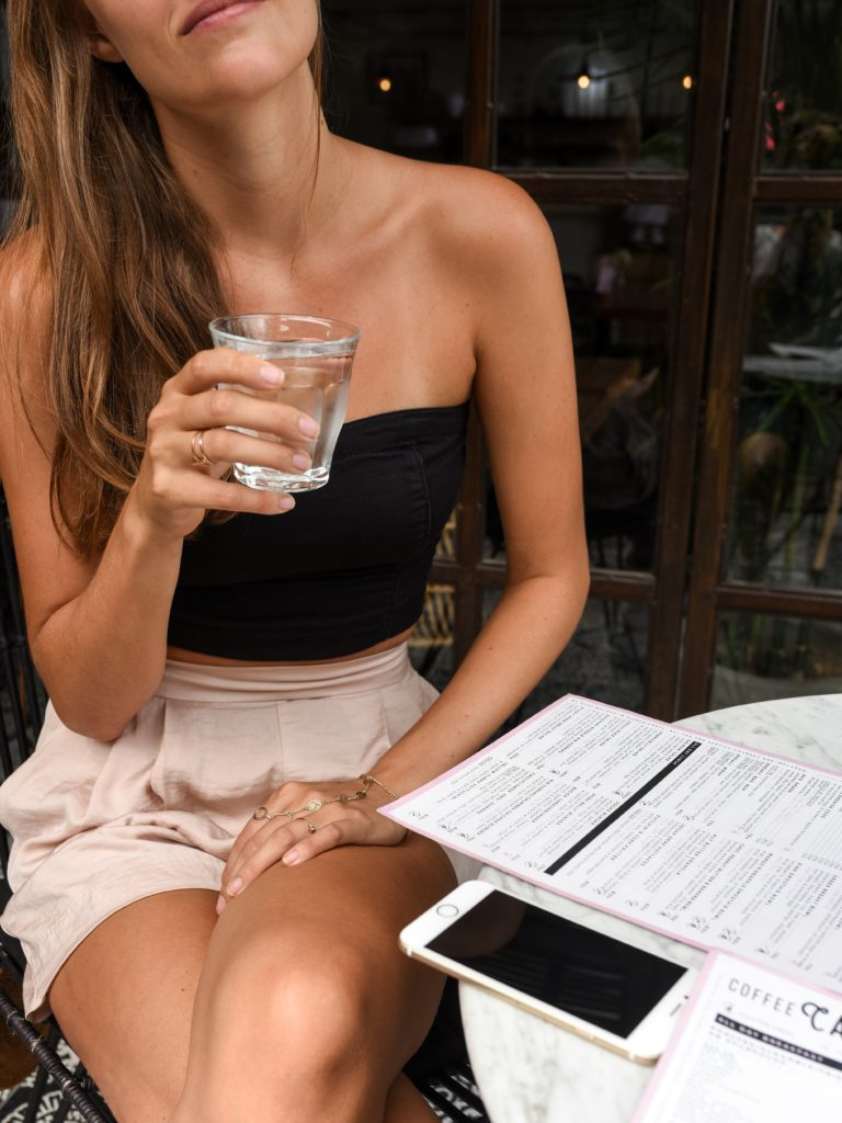 drink water water - 10 Things Women With Perfect Skin Do Every Day